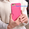Fashion Colorful Super Slim Leather Back Wallet Phone Case For Iphone 6 Plus