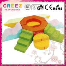 Newest exported modern soft foam blocks for kids