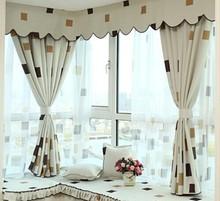 Romantic Window Panel Drape Curtains Curtain Door Room Divider Sheer Voile