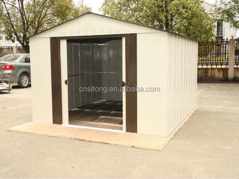 Steel storage sheds sale garden sheds metal for garden for Metal storage sheds for sale