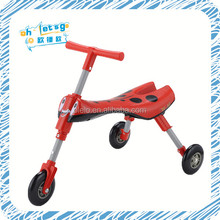 Hot sale factory scuttle bug baby toy car plastic wheels scooter