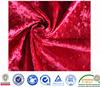 100% polyester italian velvet fabric/korean velvet