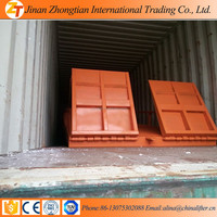 jinan zhongtian 6T new arrival hydraulic mobile yard ramp for transporting goods
