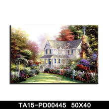 white blossom oil painting large abstract canvas art