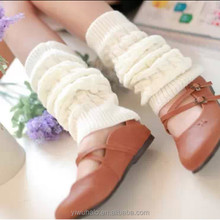 wholesale soild girl knitted fashion gaiters