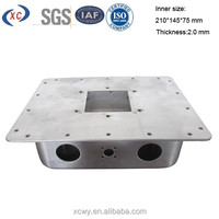 Custom industrial fabrication metal enclosures for electronics