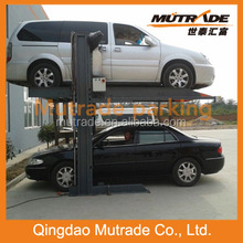 2 Columns Two Posts Legs Duplex 2 Sedan Hydraulic Garage Two Car Parking