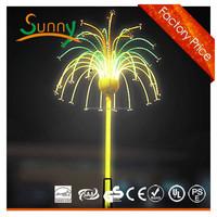 2m Charming led ctiy lights fireworks for christmas festival, led flood light fireworks