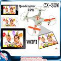 cheerson gw-tcx30w mini 6aixs iphone/wifi rc avión 3d tiempo real video cámara volando aviones teledirigidos
