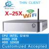 Mini PC Computer CPU Intel Celeron G1610 DUAL CORE Desktop Box 2G RAM 320G HDD Mini Thin Client