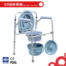 All-In-One Elderly Bedside Commode Toilet Chair Online Hot Sale