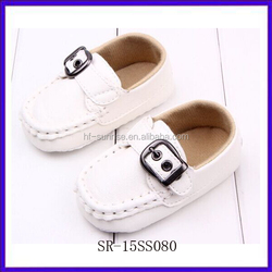 SR-15SS080 2015 new model wholesale shoes baby moccasins fashion baby boy shoes flat baby shoes leather
