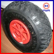 Free sample pu foam small rubber wheels