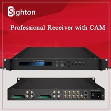 broadcast 4 Tuner inputs (DVB-C, T/T2, S/S2 Optional) decoder net hd