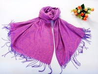 2015 HOT OEM Classic decorative pattern style Color restoring ancient ways Jacquard scarf