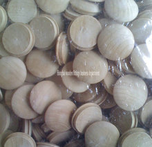 Low price wood screw lid,wooden jar lids,bottle cap lid
