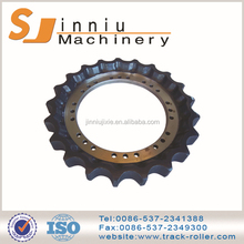 High quality cheap custom black or orange sprockets and chains