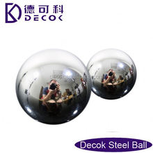 RoHS 0.35 to 200 mm low carbon steel balls mirror finished hollow copper sphere