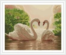 GZ246 swan diy diamond painting for home decor