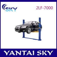 2015 hot sale mechanical car lift, two posts floor-plate lift, car lift hydraulic spare parts