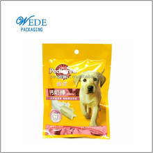 Specialized production stand up pouches pet food bag