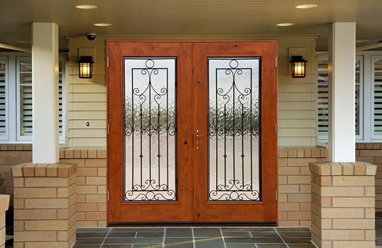 precios de cristal puerta exterior puertas de madera exteriores puertas de puertas de hierro para