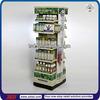 TSD-M958 Custom double side floor health care product display stand,pharmacy display shelf,display racks for pharmacy