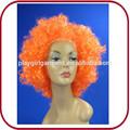 Fã de futebol curly sintético todos os tipos de perucas pgw-0708