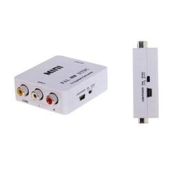 Mini size PAL NTSC Video Bi-directional RCA to RCA Converter