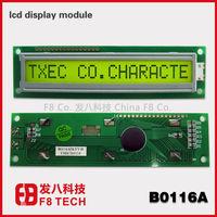 Trade Assurance service 16 Character single line 16x1 lcd display module,No.B0116ADLYY-H