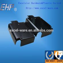 OEM wall mount metal bracket with black coating