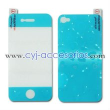 2015 front and back 2 pieces with cool design 3d screen protector