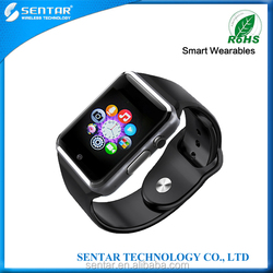 2015 Bluetooth Smart Watch Bracelet With CE RoHS For Adult Use Via Connected Bluetooth 3.0 can take phone call smart watch