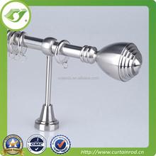 curtain rod accessory for home decoration / aluminium finial curtain pole