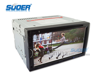 Superb Quality High Definition Car Multimedia Player With Bluetooth/DVD/CD/MP3/MP4 Multifunctional Car 2 Din DVD Player