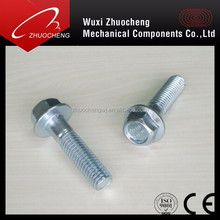 DIN6921 Carbon Steel Hexagon Flange Bolts With Grade 8.8