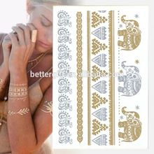 From Beauy Sticker China Custom Fashion Flash Tatoos Temporary Skin Jewels