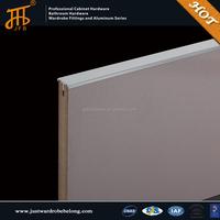 Kitchen cabinet aluminum frame hidden edge handle & knob