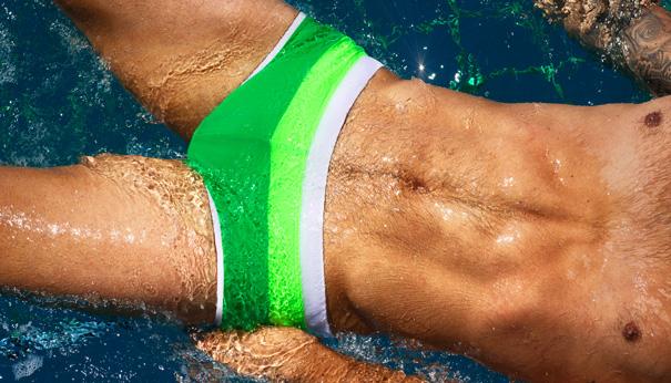 ᗔNewest gradient color men swim Φ_Φ trunks trunks mens ...