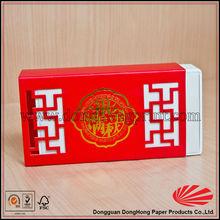 china usb drive de embalaje caja de papel
