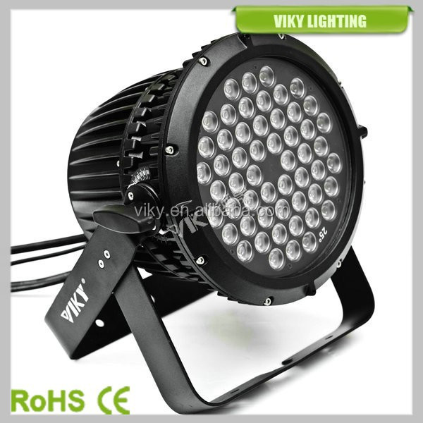 China Wholesale Outdoor Par Can Light 54 3w Rgbw Led Par