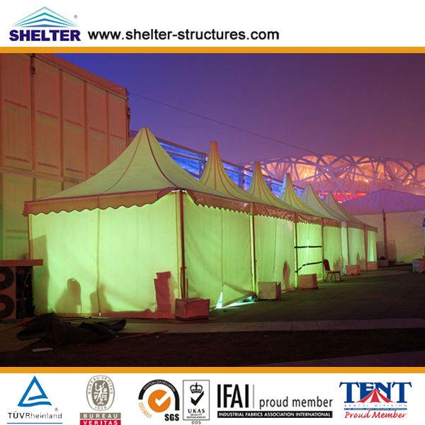 8x8,10x10,Brasil Cobertura pvc temdas,Pavilhão para venda em Guangzhou com PVC impermeável