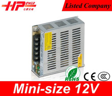 Small size design customized serive Switching Power Supply With Rohs Ce approved 36w 12v 3a led dimmable driver
