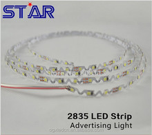 led Luminous characters S Shape SMD2835 LED Strip lighting 6mm PCB 72leds/m 14.4w 12v for letters advertising outdoor
