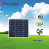 Factory directly sale 12v 30w mono solar panel