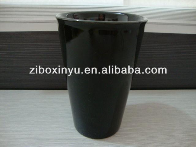 Zibo Xinyu XY0-557 Высокое качество Черный Starbucks керамическая кружка кофе для продвижения