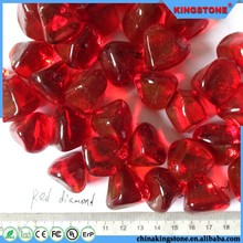Colored Glass pebbles for concrete pavers or coatings