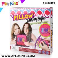 Kids Craft DIY Knotting Pillow Kits