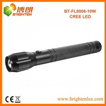 Factory Supply Zoom Focus cree xml u2 led flashlight