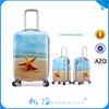 New Design Hard PC and ABS Spinner Luggage Bag Travel Trolley Case